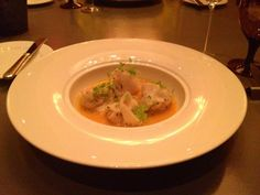 Lobster Tortellini in a Ginger & Carrot Sauce