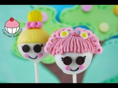 Lalaloopsy Cake Pops! Make Kids Lalaloopsy Doll Cake Pops -- A Cupcake Addiction How To Tutorial - YouTube