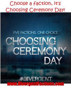 Which faction will you choose in the Choosing Ceremony?
