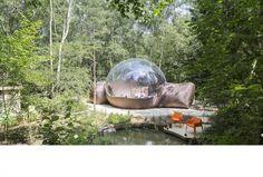 Slapen in een luchtbel  - 10x romantisch overnachten in Nederland en België - Bestemmingen - Reizen