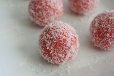 Rose Ladoo Ingredients 3 1/2 cups dry coconut flakes 1 cup condensed milk 1.5 tbsp rose flavor Red food color