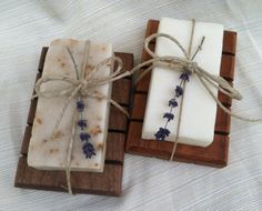 Old Fashion Homemade Soaps and Soap Dishes by inspirationsnature, $15.00