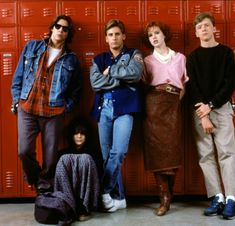 The Breakfast Club - Emilio Estevez - Anthony Michael Hall - Judd Nelson - Molly Ringwald - Ally Sheedy
