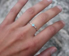 Opal Stacking ring  HOLIDAY SALE  Opal ring  by galwaydesigns, $20.00