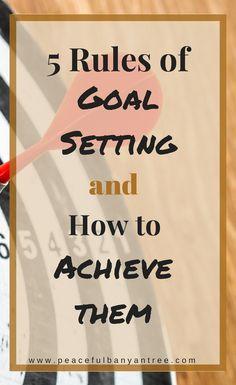 Goal setting, productivity, reach your goals, self improvement