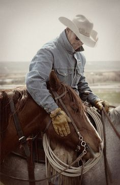 a man an his horse  is like a man and his dog.  an unspoken but immensely felt connection of love and respect