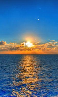 облака, рябь, горизонт, линия