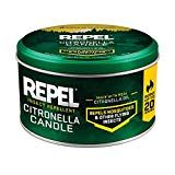 Repel 64090 Citronella Insect Outdoor Candle, Case Pack of 1