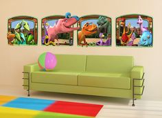 Super Mario Characters Rock 3D Decal Wall 3D Decal Graphic Vinyl Sticker Mural Kids 18 24or 36