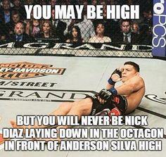 Ever been Nick Diaz high? - Imgur