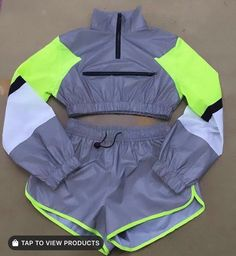 Neon Outfits, Cute Lazy Outfits, Swag Outfits For Girls, Teenage Girl Outfits, Cute Swag Outfits, Girls Fashion Clothes, Sporty Outfits, Teen Fashion Outfits, Stylish Outfits
