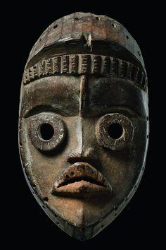 African Masks, African Art, African Mythology, Art Premier, Supernatural Beings, Masks Art, Historical Art, Black Mask, African Culture