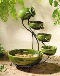 Water fixtures help maintain peace & harmony ~Fieng Shu