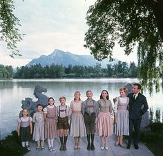 """The Movie, """"The Sound of Music"""", 1965 ~ starring Julie Andrews, Christopher Plummer, Peggy Wood, Richard Hayden, and a wonderful cast of talented children."""