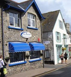 Jean Bartlett Cottage Holidays HQ! on Fore street Beer Devon.