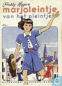 Freddy Hagers : Marjoleintje van het pleintje, met illustraties van hans Borrebach