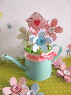 mini plaquinhas - jardim encantado