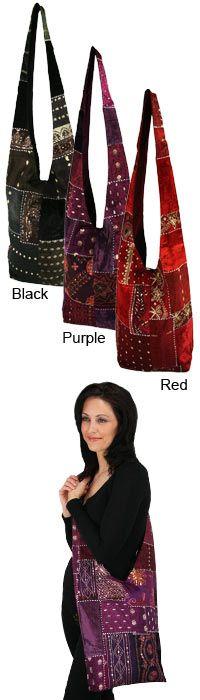 Recycled Sari Hobo Bag