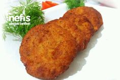 Patatesli Karnabahar Köftesi (Harika Lezzet) Turkish Recipes, Ethnic Recipes, Turkish Delight, Baked Potato, Mashed Potatoes, Banana Bread, Pasta, Baking, Desserts