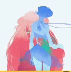 Lapis Lazuli, SU Characters, Steven universe, fandoms, Jasper, paper_jo Jasper Steven Universe, Space Aliens, Lapidot, Undertale Cute, Universe Art, A Cartoon, Almost Always, Cartoon Network, Lapis Lazuli