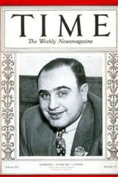 Al Capone on the cover of Time magazine