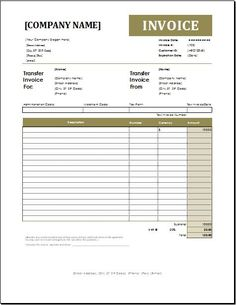 Account transfer invoice for EXCEL.Commission Invoice Template for EXCEL.The invoice number and dates are given on the commission invoice for future use and Microsoft Word Invoice Template, Invoice Format In Excel, Invoice Design Template, Templates, Printable Checks, Kindergarten Colors, Purchase Order, Eat Sleep, Company Names