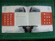 Milton Glaser magazine layout idea
