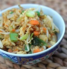 Vegetable Fried Rice #Recipe #Food #Dinner