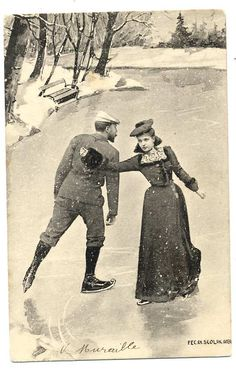 ice skating : 1900 --- Men must wear trousers – they are not allowed to wear tights, although, officials do not always impose a deduction for violations.