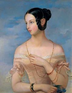 she's flipping you off //Grand Duchess Alexandra (1825-1844), daughter of Emperor Nicholas I