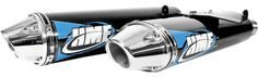 Crank up the power of your ATV with an HMF Competition Series ATV Exhaust System