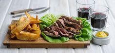 Matching Food & Wine | Match of the week | Chargilled steak with Stellenbosch Cabernet Sauvignon