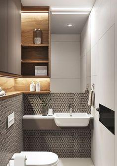 〚 38 small modern apartment with a separate bathroom in gdansk sqm) 〛 26 Bathroom Design Small, Bathroom Layout, Bathroom Interior Design, Modern Bathroom, Bathroom Ideas, Shower Ideas, Attic Bathroom, Bathroom Toilets, Basement Bathroom