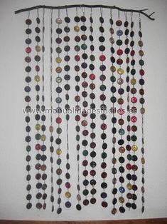 cortina de capsulas nespresso
