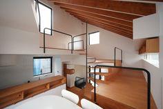今回の記事でご紹介するのは、狭小住宅の、広々としたリビング5選です。そしてリビングは狭さを感じさせないだけでなく、とって…