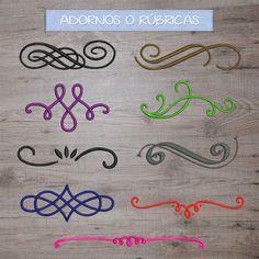 Toallas bordadas con nombre o iniciales personalizadas. Tipos de letra actuales y decorativos. Podéis escoger entre 26 colores de toallas.