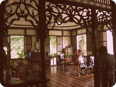 Turning Boholano: Cloribel House: A grand ancestral home Filipino Architecture, Philippine Architecture, Filipino House, Philippine Houses, Filipino Culture, Tropical Interior, Spanish House, Plate, Tropical Houses