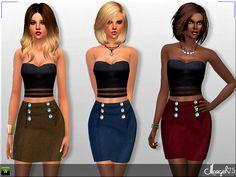Sims  Addictions: S4 Liliana Dress
