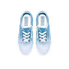 BLUE DEGRADE PLIMSOLE from Zara