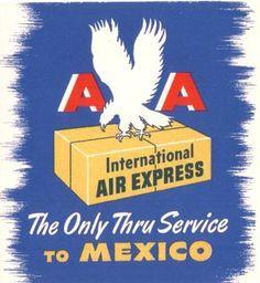 AA International Air Express 1945