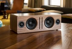 Audioengine B2 Bluetooth Speaker (Walnut)