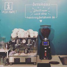 Hier gibt es ordentlichen Kaffee! #finanzbc