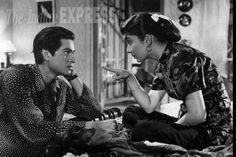 Sadhana Shivdesani (Bollywood veteran actress) in Love in Shimla with the handsome, Joy Mukherjee....