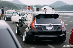 StanceNation Japan G Edition Nagasaki Photo Coverage // Part Honda Van, 2016 Honda Fit, Acura Tsx, Nagasaki, Custom Vans, Stance Nation, Modified Cars, Honda Civic, Hot Cars