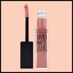 Nude lipstick is having a major moment in the beauty world, and you can get some of the best products at your local drugstore! Here are our picks for the best affordable nude lipsticks around, like Maybelline Vivid Matte Liquid.