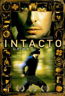We discuss the 2001 film from director and co-writer , Intacto which stars Leonardo Sbaraglia as Tomás, a man who survives a plane crash and who may just be the luckiest man in the world.