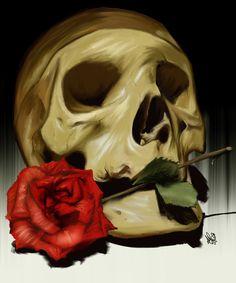 Skull by aibrean.deviantart.com on @DeviantArt
