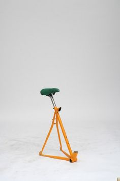 Martino Gamper: 100 Chairs in 100 Days - Thisispaper Magazine Unique Furniture, Cheap Furniture, Furniture Design, Industrial Furniture, Plastic Garden Chairs, Discount Furniture Stores, Chair Types, Tripod Lamp, Chairs