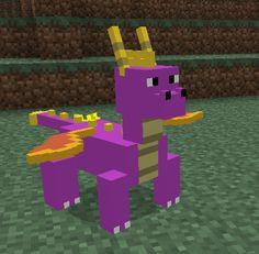 Spyro The Dragon Mod for minecraft!? Whhhhaaaatttt!?!?!?