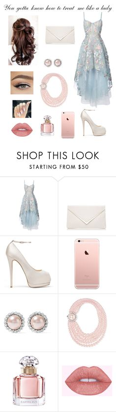 """""""Dear Future Husband"""" by forlandfashions ❤ liked on Polyvore featuring Notte by Marchesa, Giuseppe Zanotti, Miu Miu and Guerlain"""